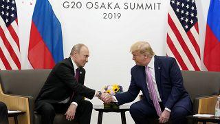 Trump'tan Putin'e: ABD seçimlerine müdahale etme