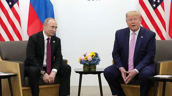 Trump pide a Putin que no interfiera en sus elecciones