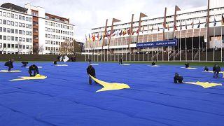 Strasbourg'daki Avrupa Konseyi binası