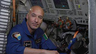 El astronauta Luca Parmitano enviará crónicas de su misión espacial para Euronews