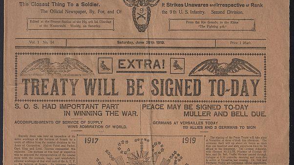 100 anni dal Trattato di Versailles: i documenti che misero fine alla Grande Guerra