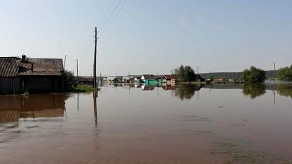 Oroszország: árvíz Irkutszk térségében