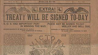 Centenario del Tratado de Versalles: Las reliquias que cuentan la historia de una firma histórica