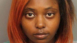 Marshae Jones is shown in this booking photo in Birmingham, Alabama, US