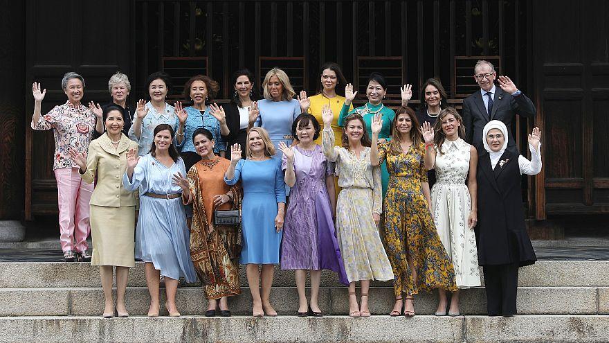 G20: супруги лидеров развлекались в Киото