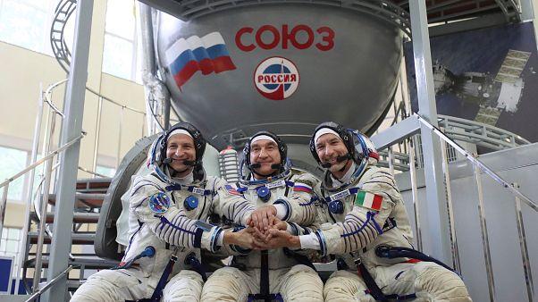 """L'astronauta Luca Parmitano: """"Sogno di andare sulla Luna"""""""