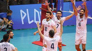 پیروزی تیم ملی والیبال ایران مقابل صربستان