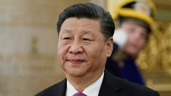 الرئيس الصيني شي جين بينغ في موسكو يوم 5 يونيو/ حزيران