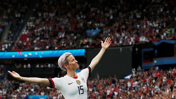 Megan Rapinoe is just as assured off the pitch