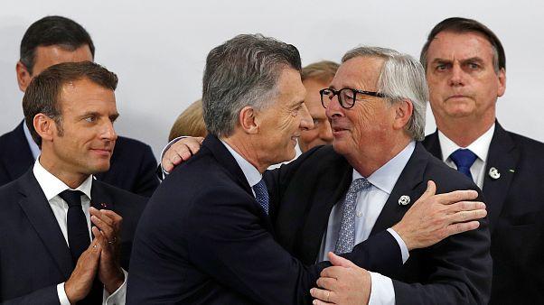 """UE-Mercosur, un acuerdo histórico sellado """"con la frente marchita"""""""
