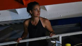 Alman kadın kaptan Carola Rackete