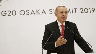 Erdoğan Osaka'da konuştu: S-400'lerle ilgili ABD yaptırımı söz konusu değil