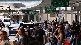 استئناف الرحلات الجوية في مطار نيوآرك ليبرتي في نيوجيرسي بعد حالة طوارئ