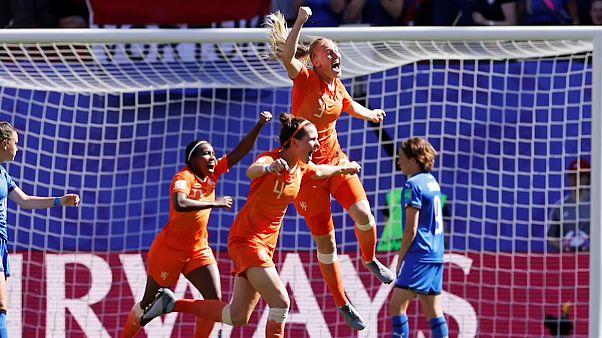 Holanda y Suecia consiguen su pasaporte para las semifinales