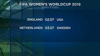 A női labdarúgó-vb elődöntősei