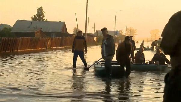 Vészhelyzet a Bajkál-tónál