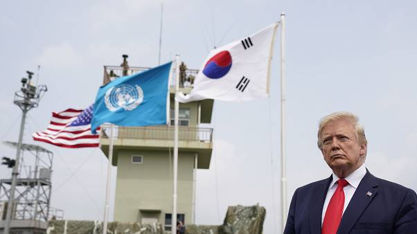 Watch back: Trump meets North Korea's Kim in demilitarised zone