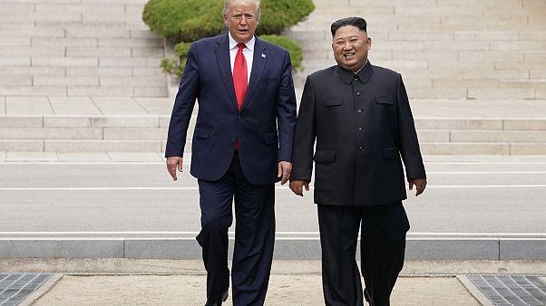 Trump-Kim zirvesi: Kuzey Kore'ye ayak basan ilk ABD Başkanı