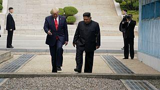 دونالد ترامپ؛ اولین رئیس جمهوری آمریکا که قدم به خاک کره شمالی گذاشت