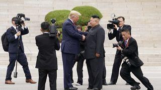 Trump primo presidente statunitense in Corea del Nord