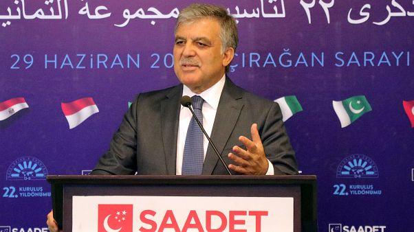 Yeni parti oluşumu içinde olduğu iddia edilen Abdullah Gül: Mutlak otorite sürdürülemez