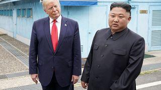 Trump et Kim: rencontre historique dans la zone tampon entre les deux Corées