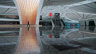 Pekin'in yeni havalimanı inşaatı tamamlandı, resmi açılış Komünist Devrim'in yıldönümünde