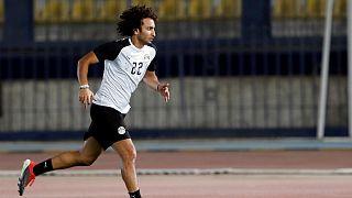 عمرو وردة بتدريب المنتخب الوطني المصري