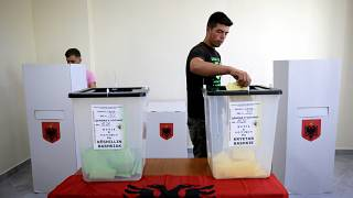 Albanian mayoral vote unfolds peacefully despite opposition boycott