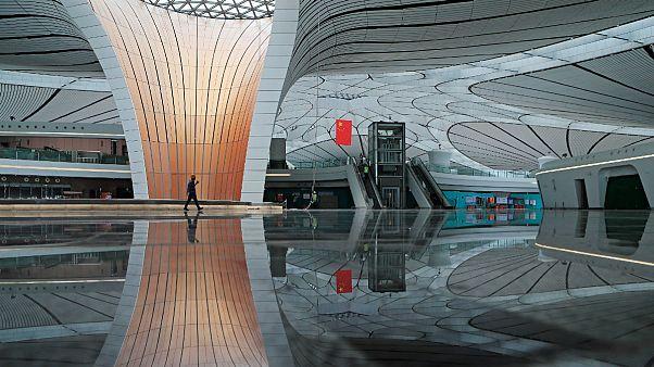 چین؛ فرودگاه بزرگ «داکسینگ» بمناسبت۷۰سالگی رژیم کمونیستی افتتاح می شود