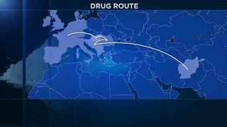 Magyarországon át vezet az egyik legfontosabb heroincsempész útvonal