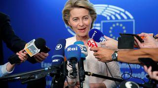 Убедить Европарламент: фон дер Ляйен в Страсбурге