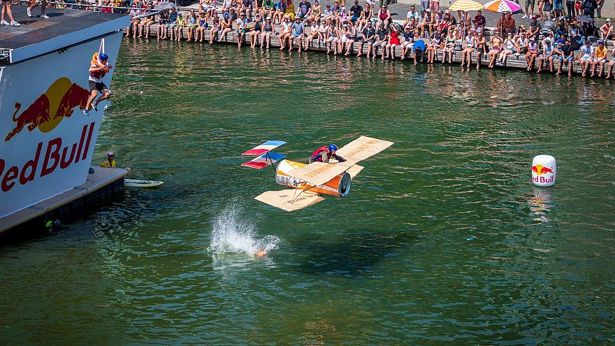 Red Bull Flugtag in Lyon, France, 30 June 2019