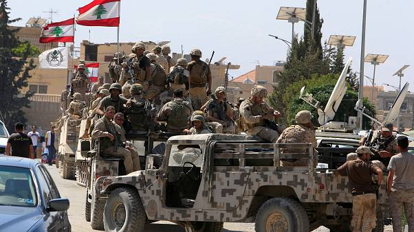 Lübnan ordusuna mensup askerler