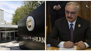 Libya'da 6 Türkün alıkonulmasına Türkiye'den tepki: Hafter unsurları meşru hedef haline gelecektir