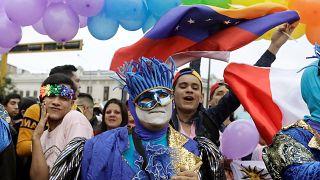Gay Pride-Parade in Peru