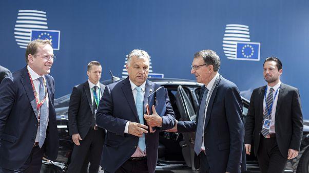 Orbán Viktor: történelmi  hiba lenne Timmermans támogatása