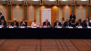 Türkiye Cumhurbaşkanı Recep Tayyip Erdoğan, Japonya İş Federasyonu (Keidanren) tarafından düzenlenen Japon iş adamlarıyla buluşma toplantısına iştirak etti