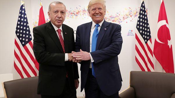 Erdoğan ve Trump'ın S-400 açıklamaları sonrası Dolar, TL karşısında değer kaybetti