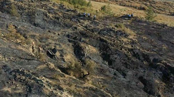 Kuzey Kıbrıs Türk Cumhuriyeti'ne 'Rus yapımı füze' düştü