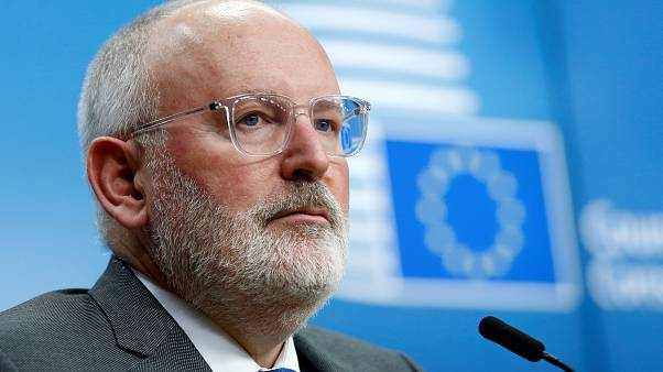 European Commission First Vice-President Frans Timmermans.