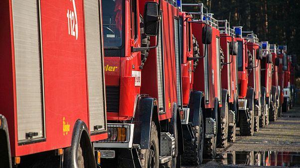 Waldbrand in Mecklenburg-Vorpommern weitet sich aus - Evakuierungen