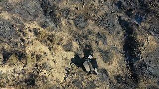 سقوط صاروخ يعتقد أنه روسي الصنع شمال قبرص التركية