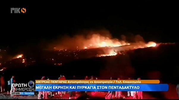 Un misil ruso cae en Chipre por accidente