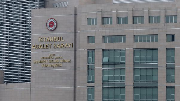İstanbul Adalet Sarayı ( İsa Terli - Anadolu Ajansı )