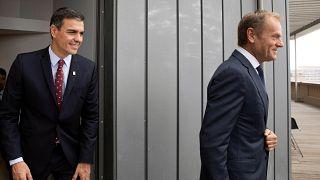 Pedro Sánchez, decepcionado por la falta de acuerdo en Bruselas