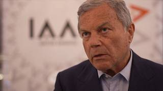 Watch:  Advertising legend Martin Sorrell speaks to Euronews on the new reality of advertising