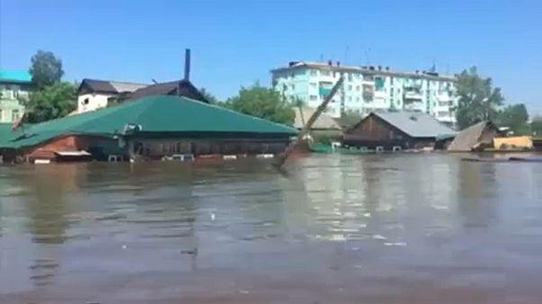 Halálos áradások Oroszországban