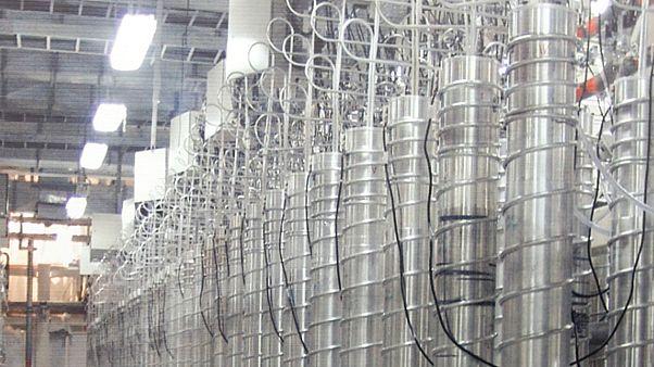 İran uranyum zenginleştirme sentrifüjü