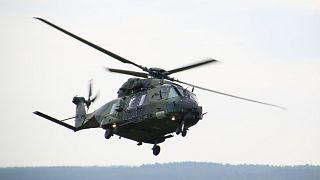 Bundeswehr-Hubschrauber stürzt ab - mindestens ein Toter